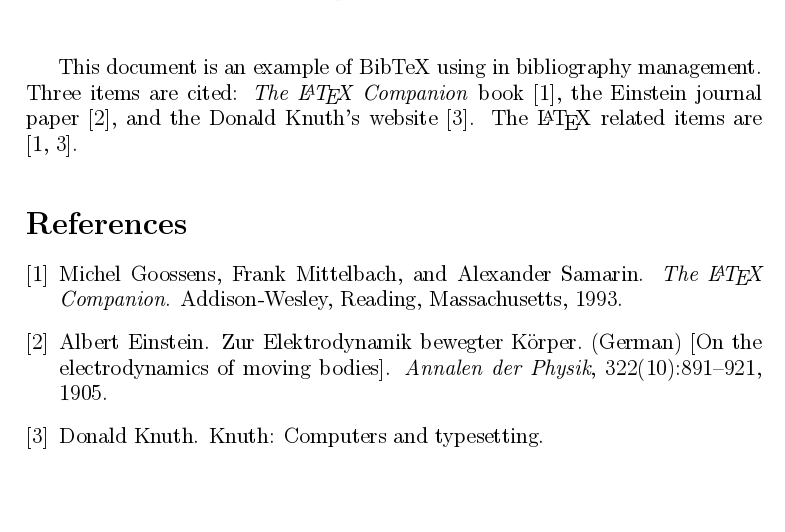 You can then export this bibliography as text, or simply copy/paste ...