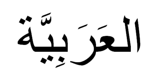 Image of typeset Arabic text