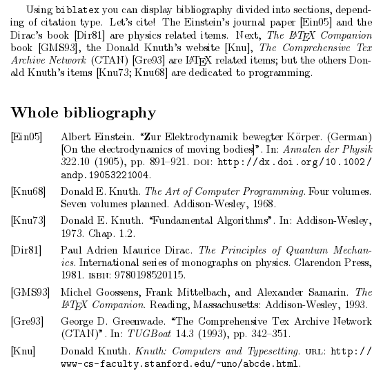Defining The Bibliography Formatting - RefWorks